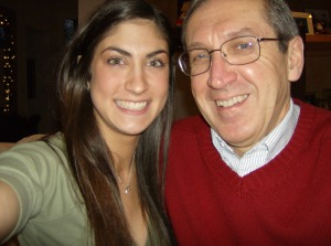 Maggie and her Dad.